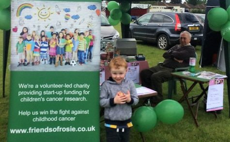 Locals support childhood cancer research