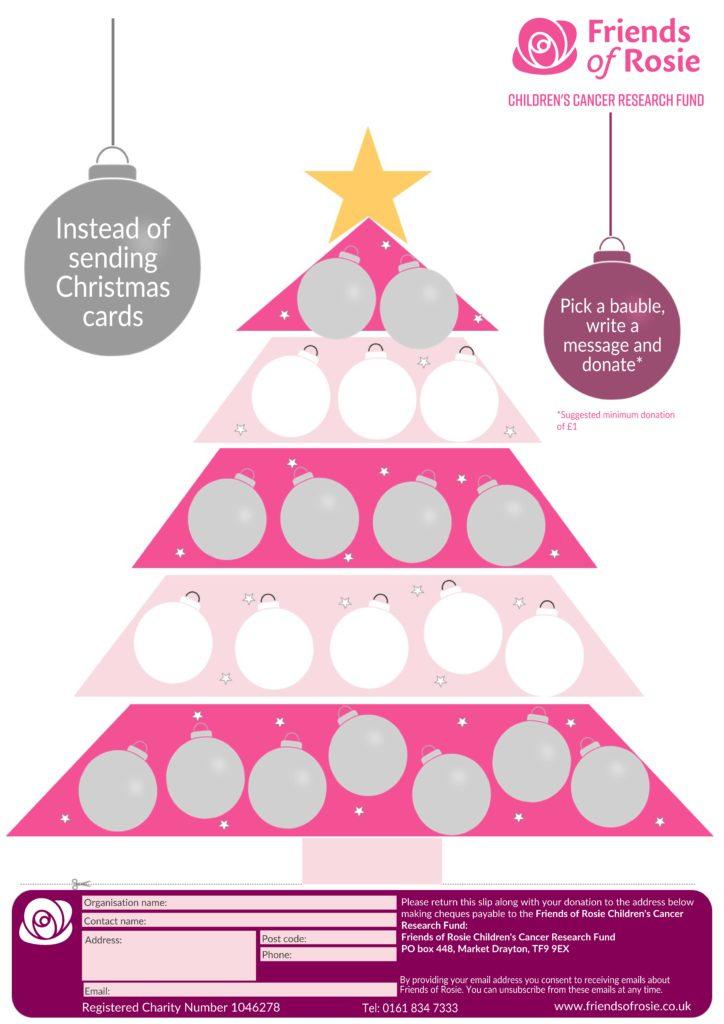 Christmas message poster