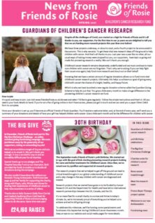Annual newsletter out now
