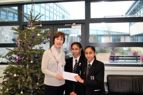 Parrenthorn High School donation